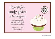 Cakey Pink Invitation