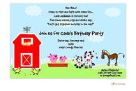Farm and Petting Zoo Invitation