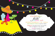 Fiesta Table Custom Invitation