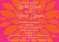 Flower Custom Invitation