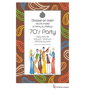 70's People Invitation