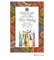 70's People Invitation