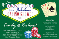 Casino Custom Invitation