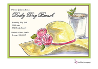 Derby Hat Invitation