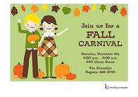 Fall Kids Invitation