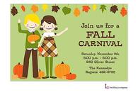 Fall Kids Invitation