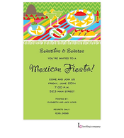 Fiesta Table Invitation
