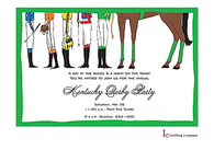 Jockey Feet Invitation
