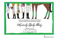Jockey Feet Invitation