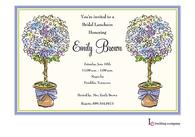 Allium Topiaries Invitation