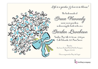 Bouquet Invitation