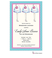 Bridesmaid's Feet Invitation