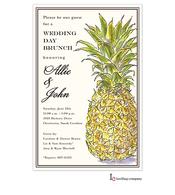 Classic Pineapple Invitation