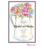 Flower Pitcher Invitation
