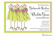 Spring Maids Invitation