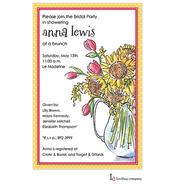 Sunflower Pitcher Invitation