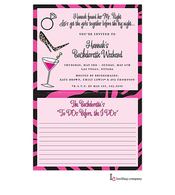 Bachelorette List Invitation
