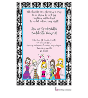 Bachelorettes Invitation
