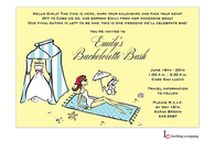 Beach Bride Invitation