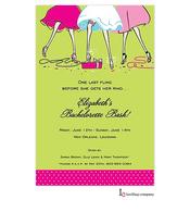 Haute Girls Invitation