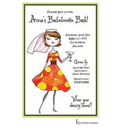 Miss Bachelorette Invitation