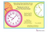 Clocks Invitation