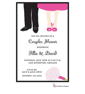 Couples Feet Invitation