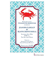 Preppy Crab Invitation