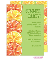 Summer Citrus Invitation