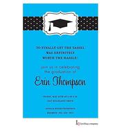 Blue Grad Invitation