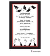 Grad Hands Invitation