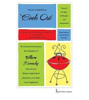 Cookout Blocks Invitation