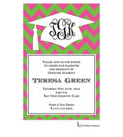 Flamingo Grad Invitation