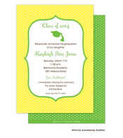 Yellow Dots Invitation