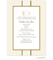 Ewe Go Baby Baby Shower Flat Cards Invitation