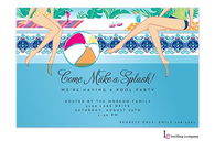 Poolside Invitation