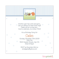 All Star Baby Shower Classic Square Invitation