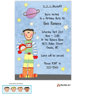 Astronaut Invitation