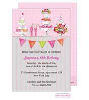 Candy Buffet (Pink) Invitation