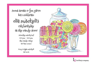 Candy Buffet Invitation