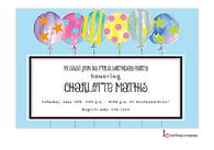 Crazy Balloons Invitation