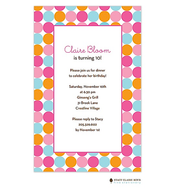 Fizzy Bubbles - Pink Invitation