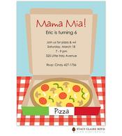 Mama Mia! Party Invitation