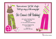 Party PJs Invitation