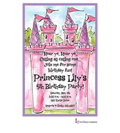Pink Castle Invitation