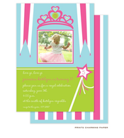 Princess Birthday Party Invitation with Digital Photo