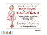 Spa Invitation