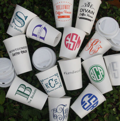 Personalized Paper Cups