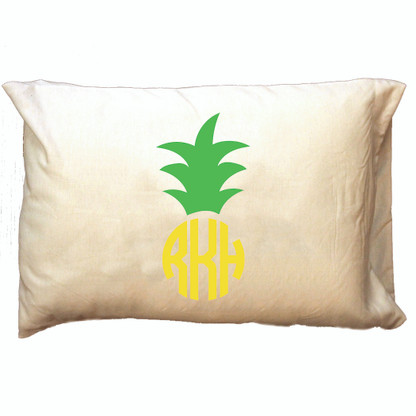 Personalized Pillowcase - Pineapple