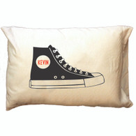 Personalized Pillowcase - Black Hi-Top